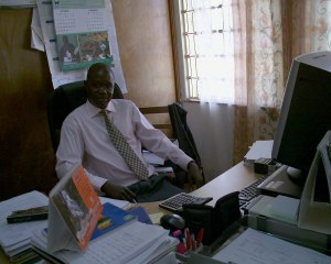 Chief Finance Officer-Mr. Ebong Geoffrey