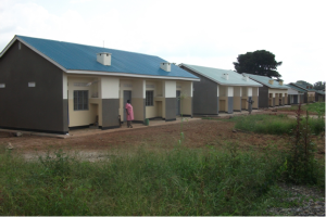 Staff Houses in Ogur HCIV in Erute North Health Sub District, Construct by PRDP Funding Fy 2010/2011 and 2011/2012