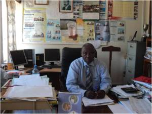 Chief Administrative Officer- Mr. Rwanguha Benon