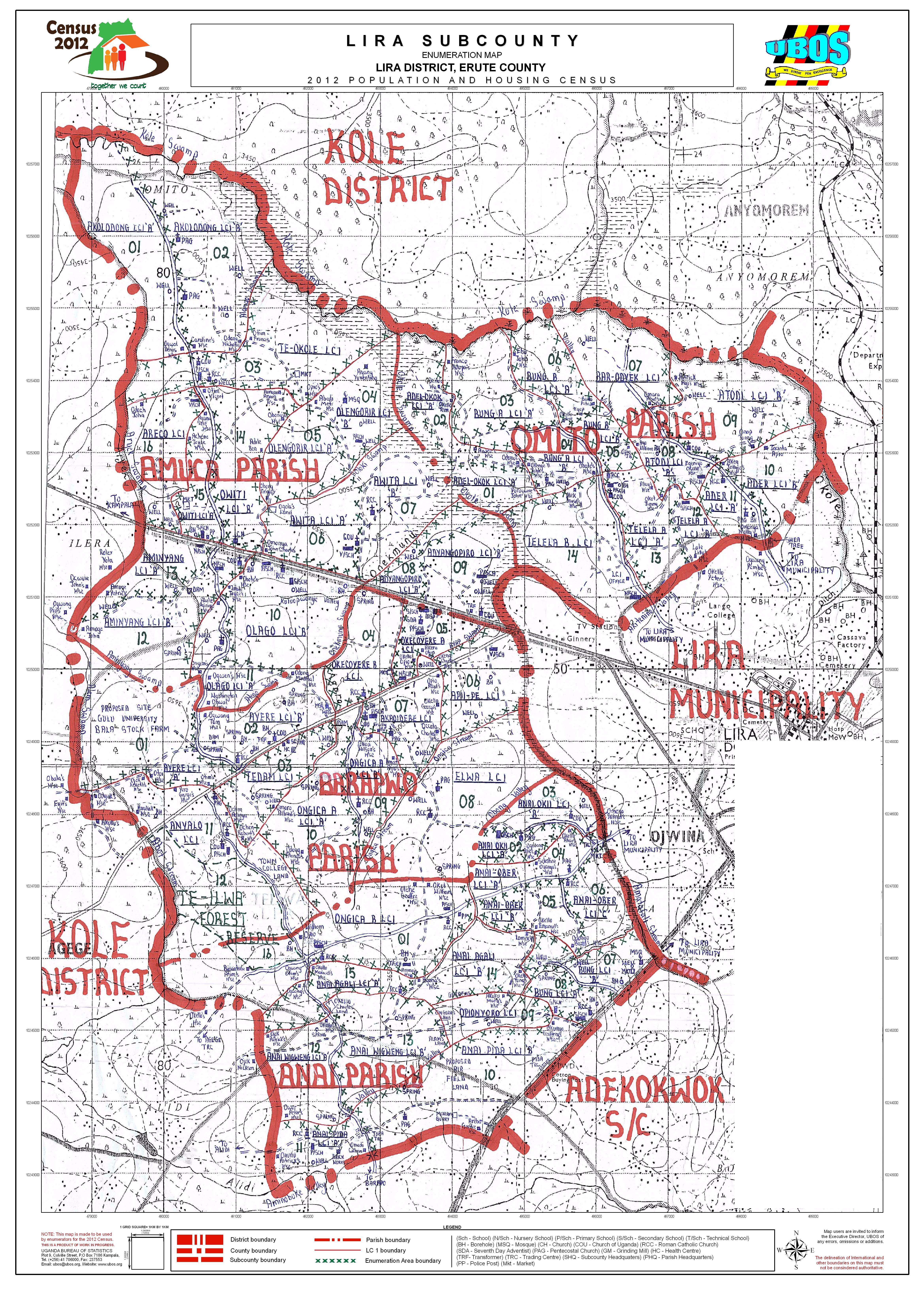 Lira Sub County | Lira District